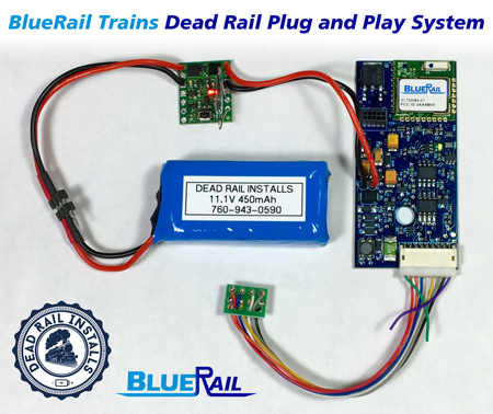 BlueRail Trains Dead Rail Play and Play System